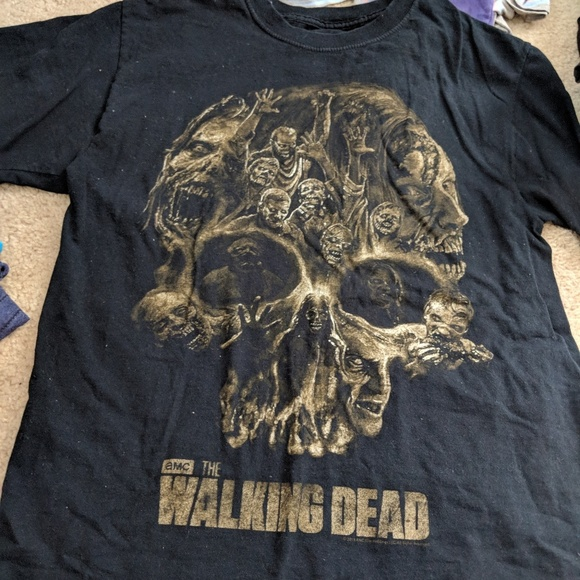 92eefe3e7 the walking dead Tops   Traded All Items Listed In Description ...